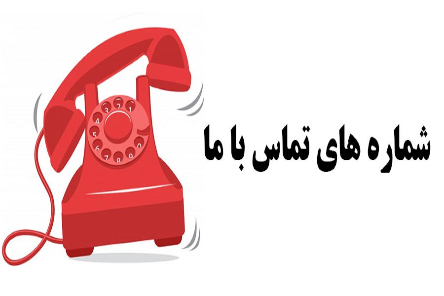 شماره های تماس با مؤسسه آموزش عالی آپادانا
